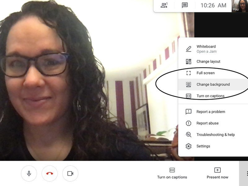 Google Meet How To Change Background
