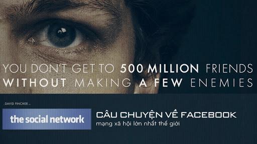 Phim Mạng Xã Hội, bộ phim về tỉ phú Facebook – Mark Zuckerberg
